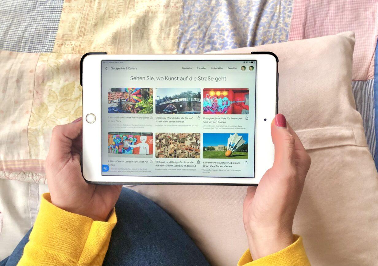 Screenshot Google Arts & Culture